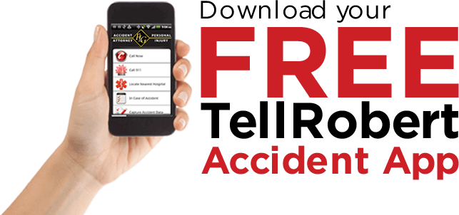 Download your free TellRobert Accident App